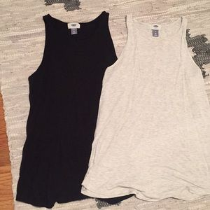 Sale! Set of TWO Old Navy High Neck Tanks